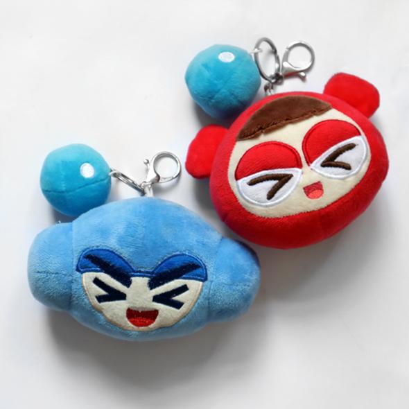 NEXON 台灣樂線 - 玩偶鑰匙圈