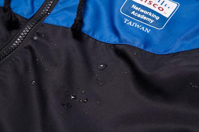 CISCO - 防潑水拼接連帽外套